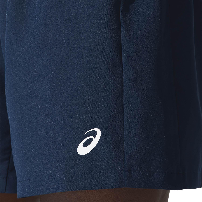 Asics Icon 7in Shorts - French Blue/Sour Yuzu