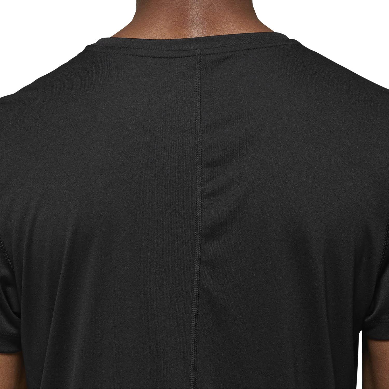 Asics Silver Logo Camiseta - Performance Black/Dark Grey