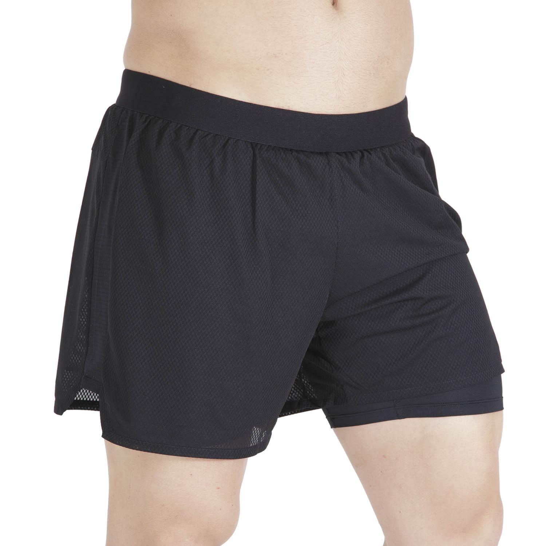 Asics Ventilate 2 in 1 5in Shorts - Performance Black