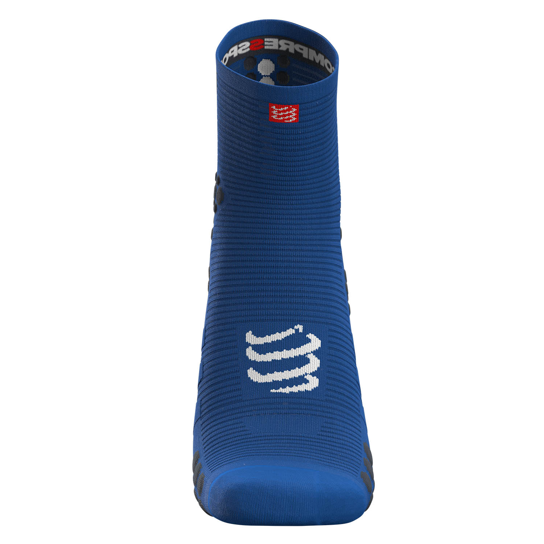 Compressport Pro Racing V3.0 Run High Socks - Blu Lolite