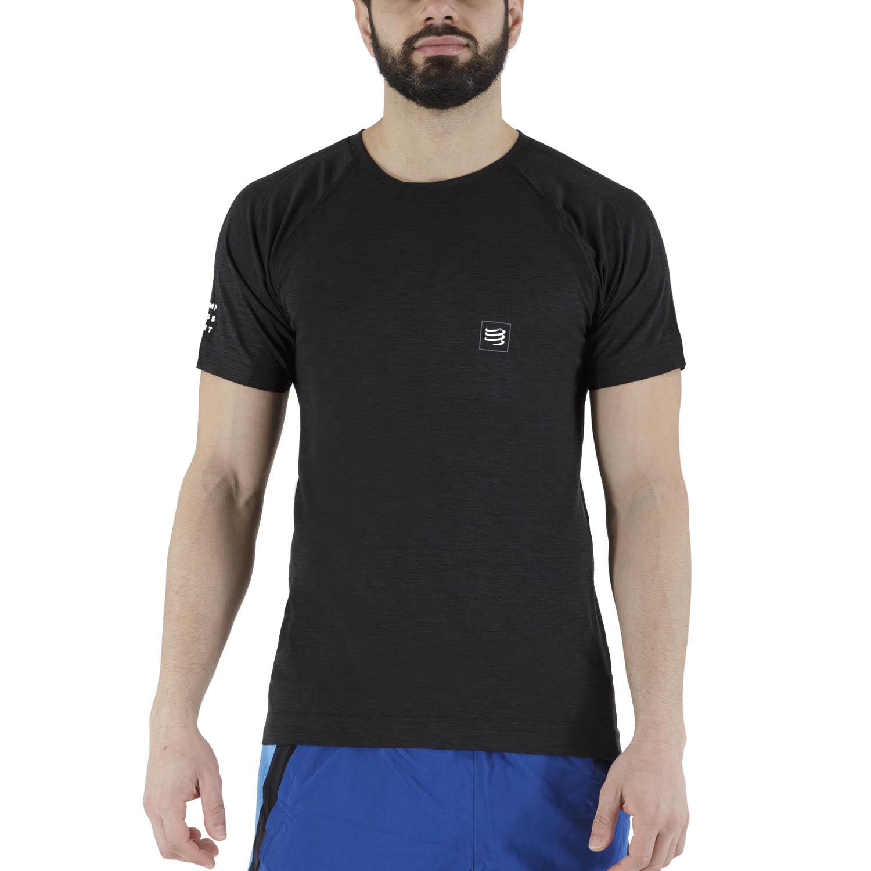 Compressport Training T-Shirt - Black