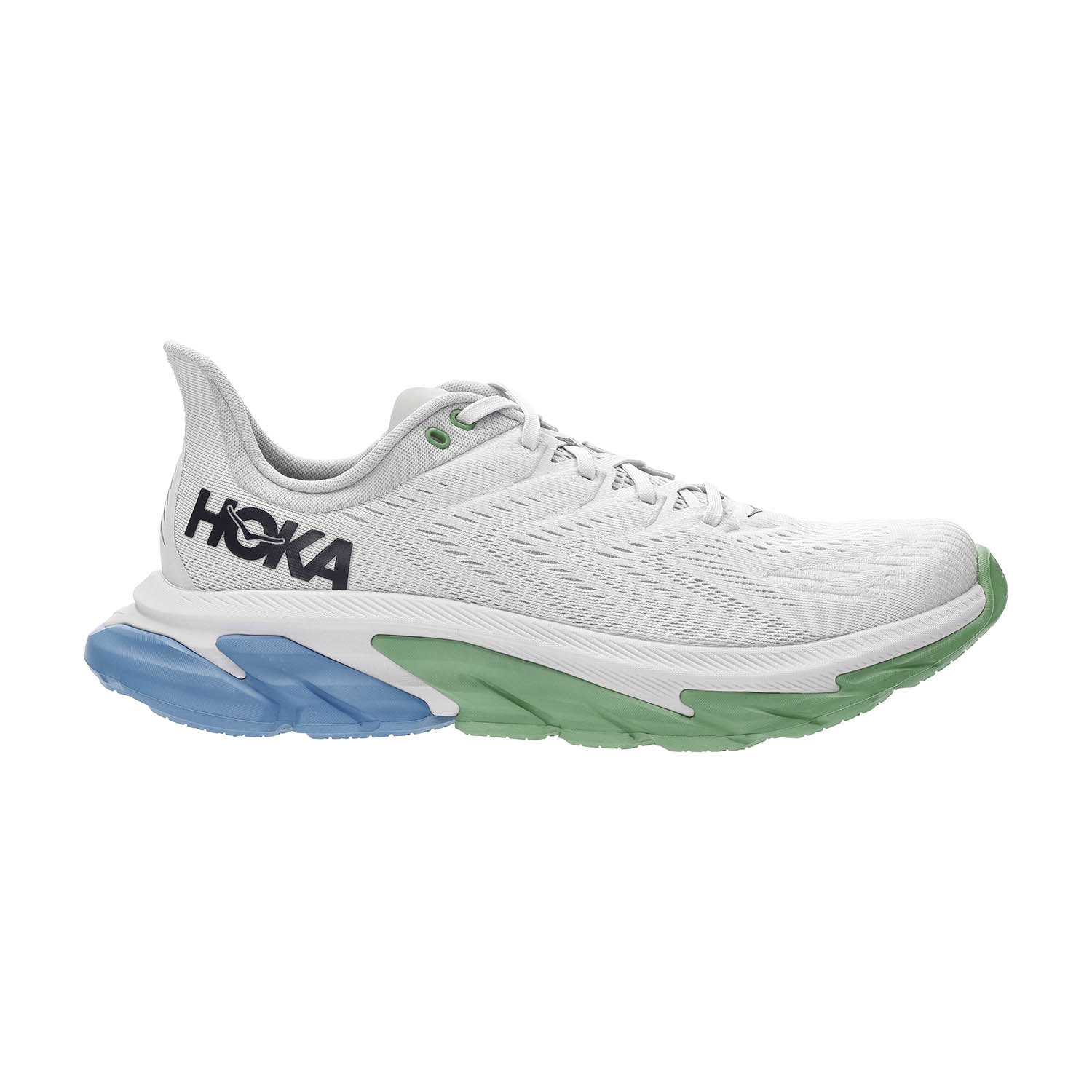 Hoka One One Clifton Edge - Nimbus Cloud/Green Briar