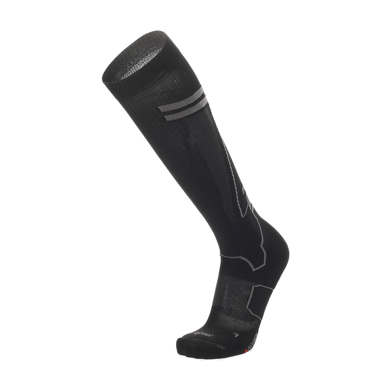 Mico Oxi-jet Medium Weight Compression Socks - Nero/Grigio