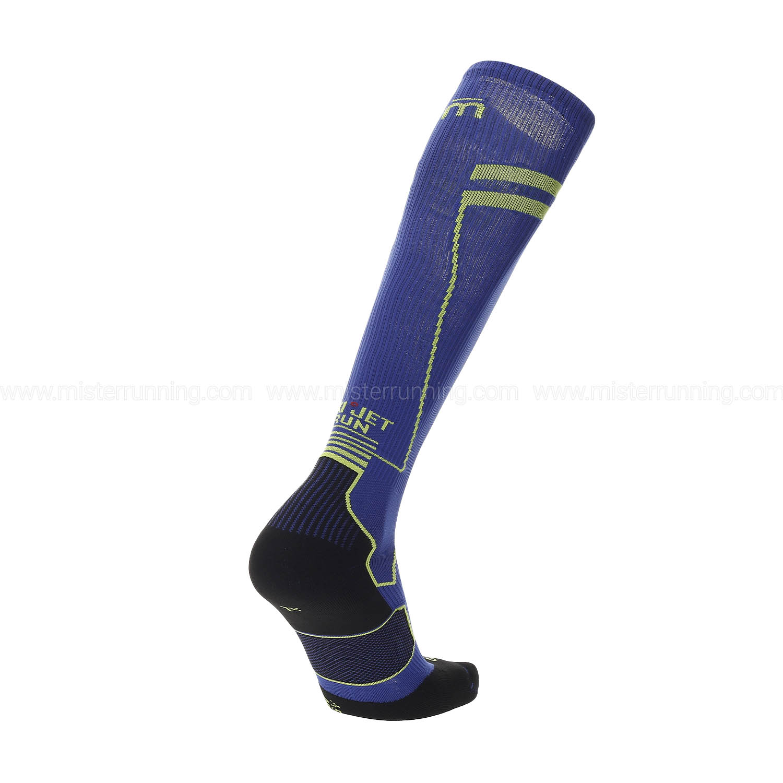 Mico Compression Oxi-Jet Medium Weight Socks - Bluette