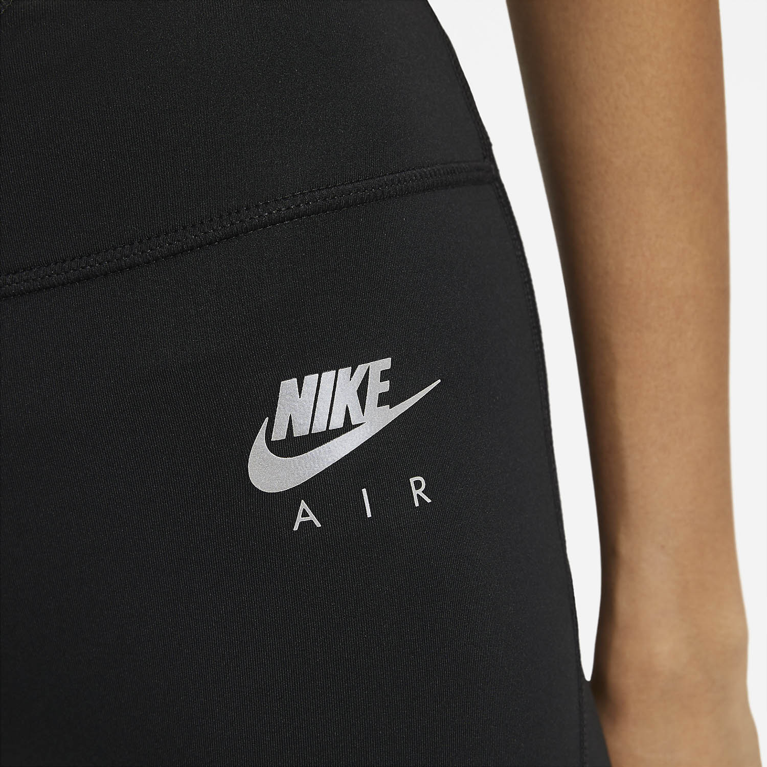 Nike Air 7in Short - Black/Reflective Silver