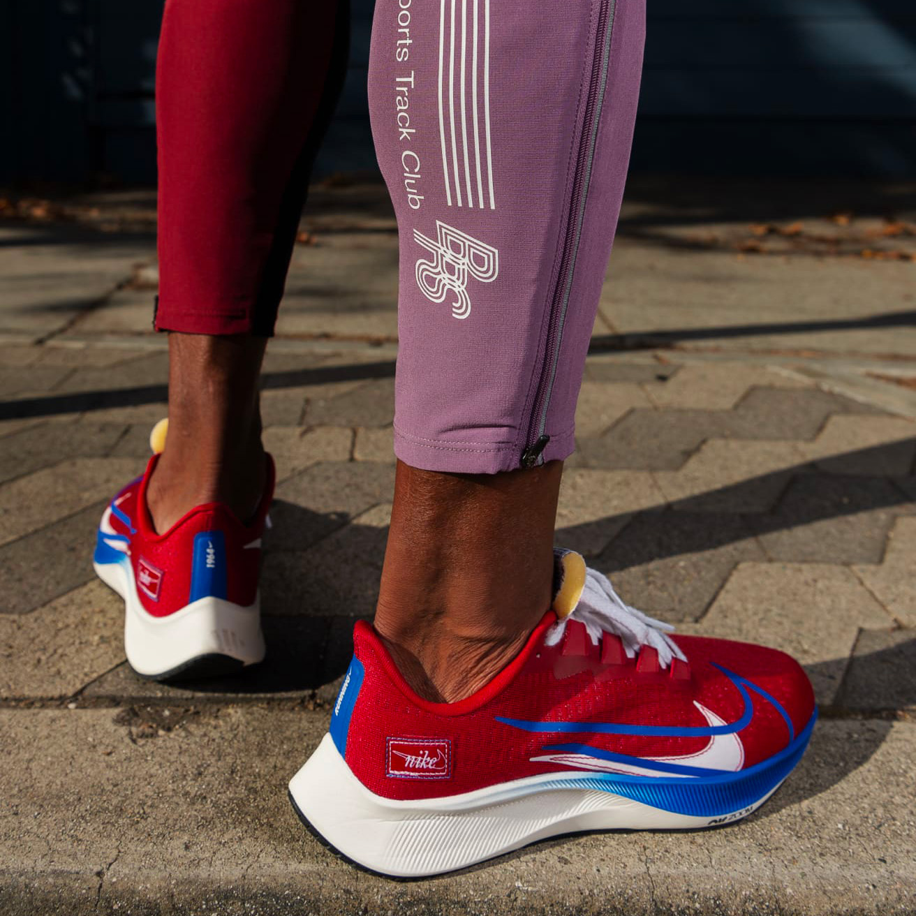 Nike Air Zoom Pegasus 37 Premium - Gym Red/Game Royal/White/Sail