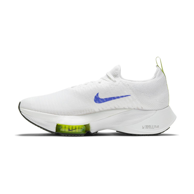 Nike Air Zoom Tempo Next% - White/Racer Blue/Volt/Black