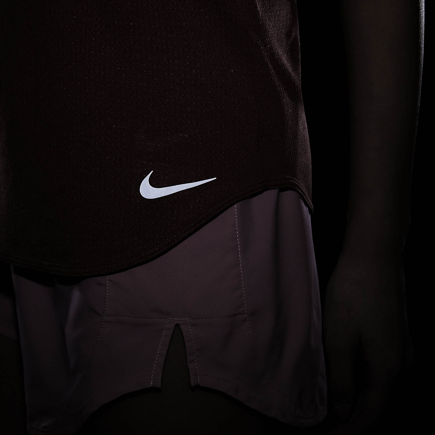 Nike Breathe Cool Tank - Canyon Rust/Reflective Silver