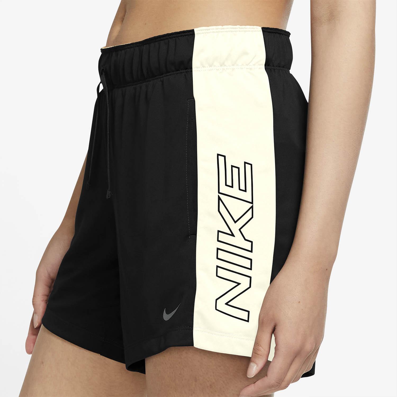 Nike Dri-FIT Graphic 5in Shorts - Black/Sail/Iron Grey