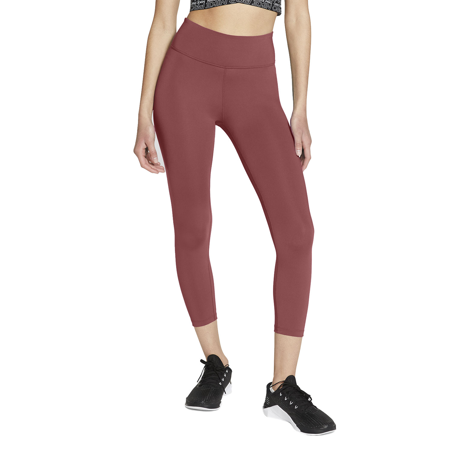Nike Dri-FIT One Tights - Canyon Rust/White