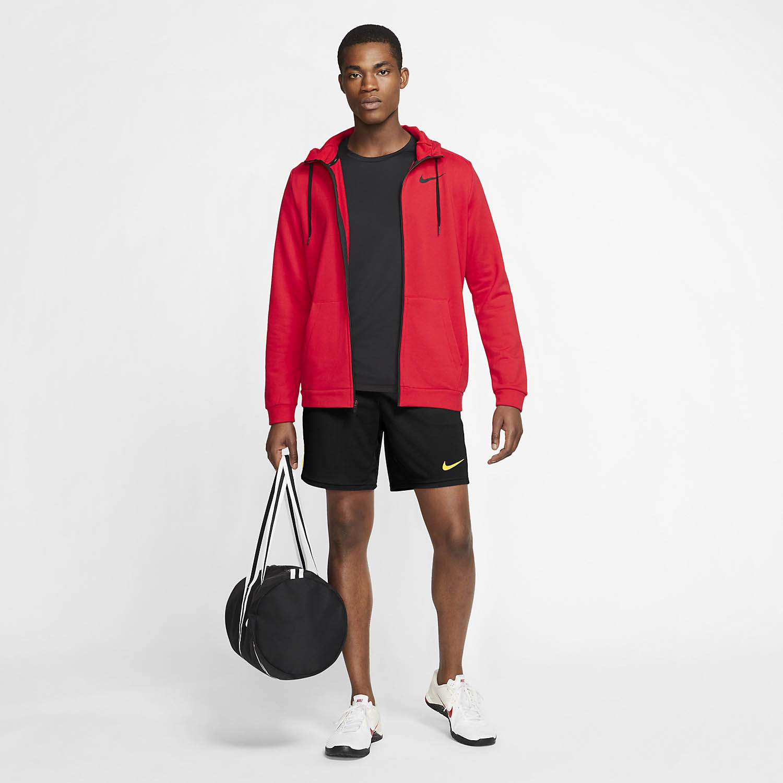 Nike Dry 5.0 8in Shorts - Black/Citron Pulse