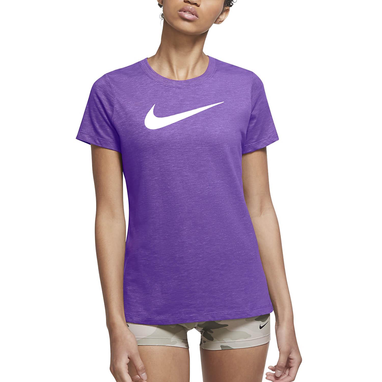 Nike Dry Crew T-Shirt - Wild Berry/Infinite Lilac/White