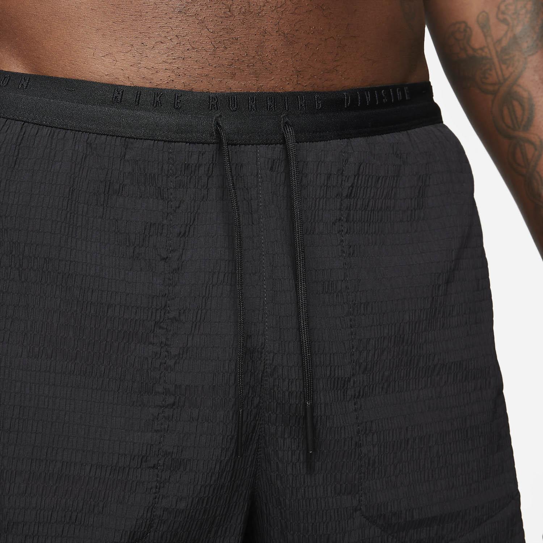 Nike Flex Stride Run Division 4in Shorts -Black/Reflective Silver