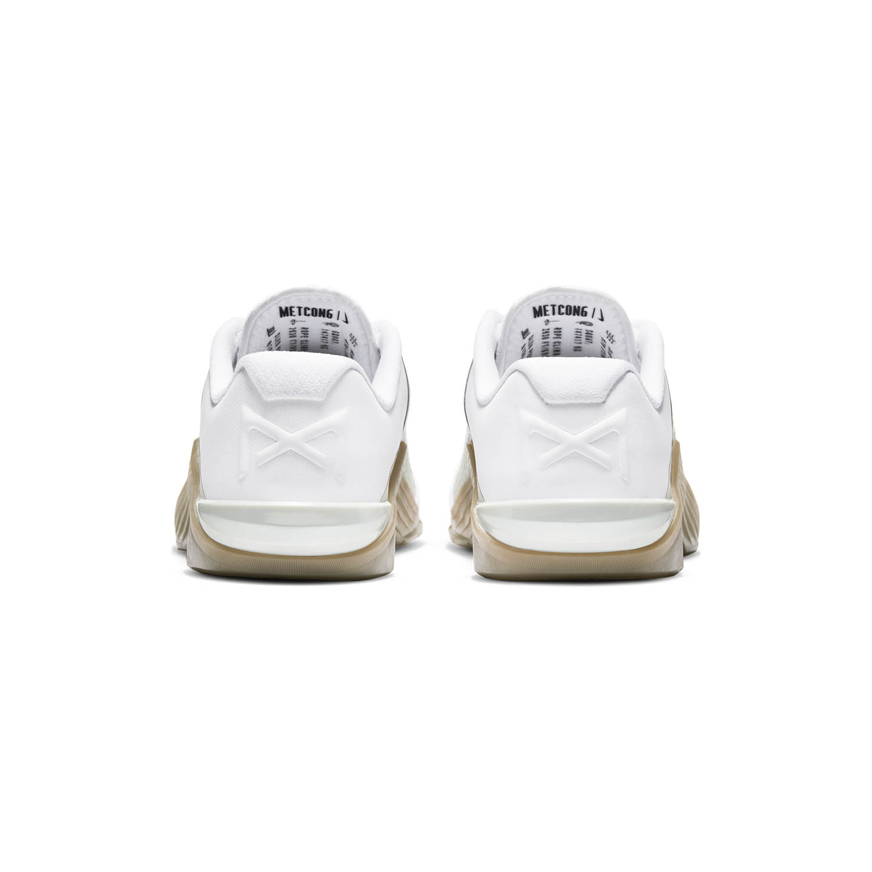 Nike Metcon 6 - White/Black Gum/Dark Brown/Grey Fog