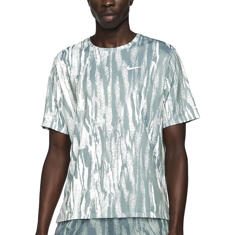 Nike Miler Wild Run Camiseta - Barely Green