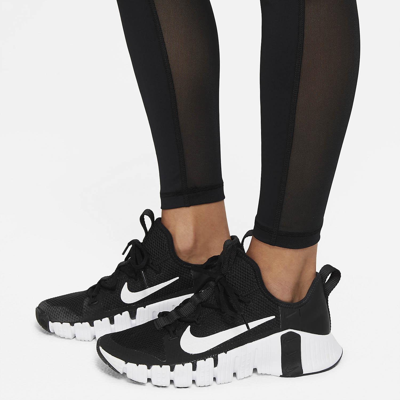 Nike Pro 365 Long Tights - Black/Fireberry/White