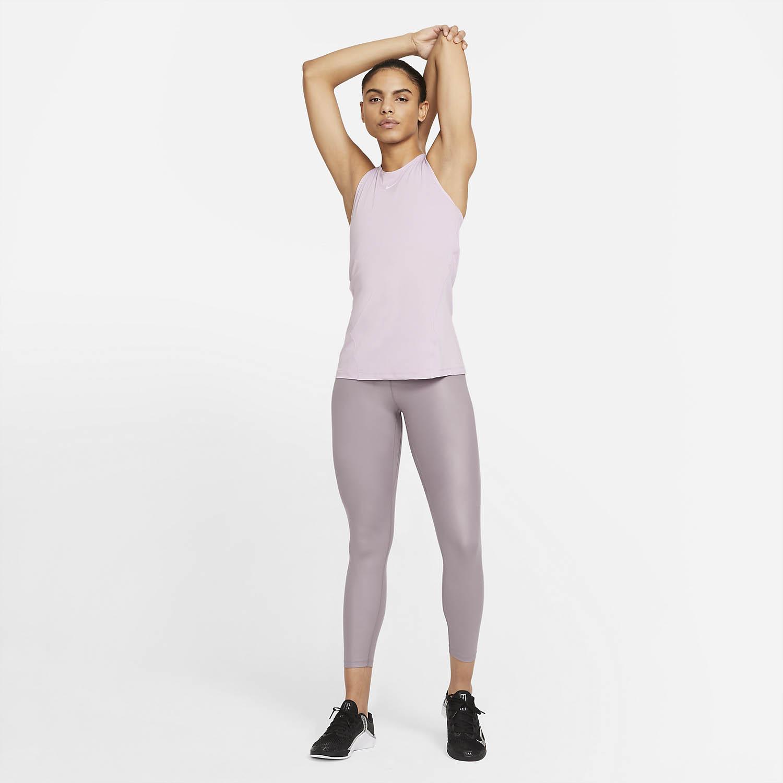 Nike Pro Tank - Iced Lilac/White