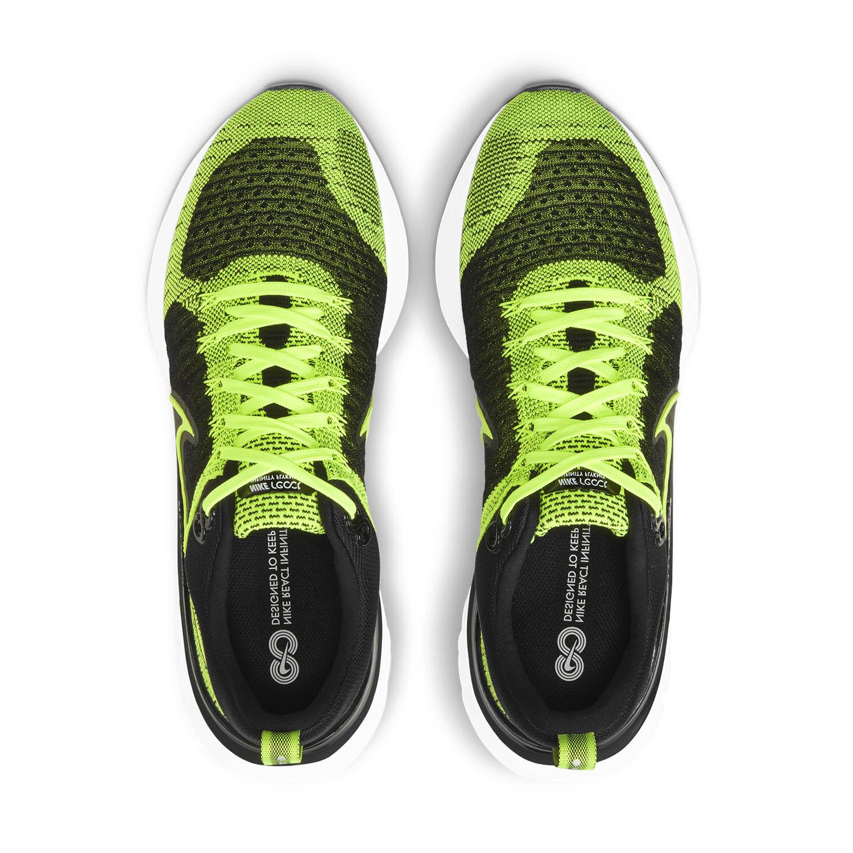 Nike React Infinity Run Flyknit 2 - Volt/Black