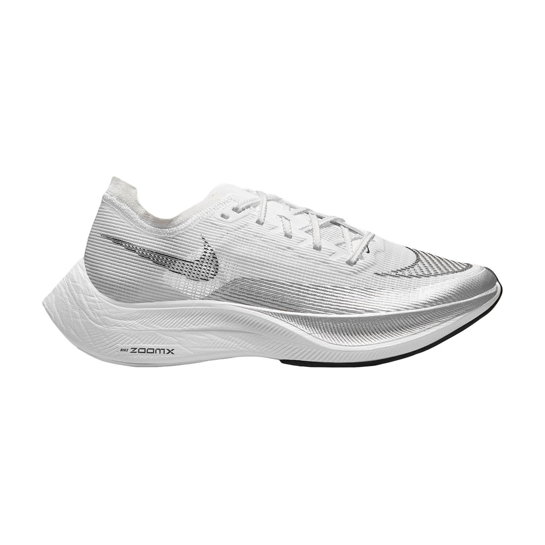 Nike ZoomX Vaporfly Next% 2 - White/Black/Metallic Silver