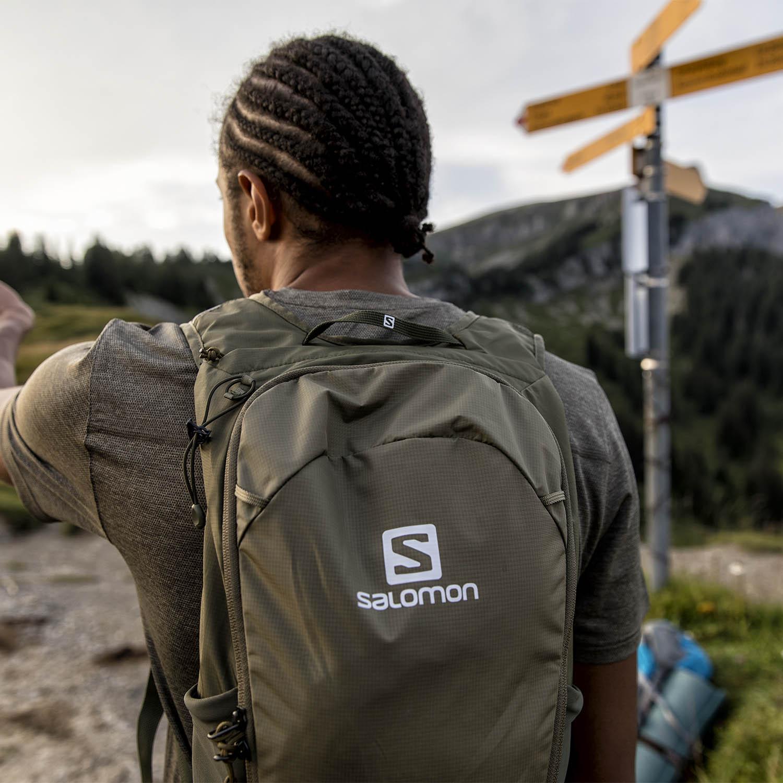 Salomon Trailblazer 10 Backpack - Martini Olive