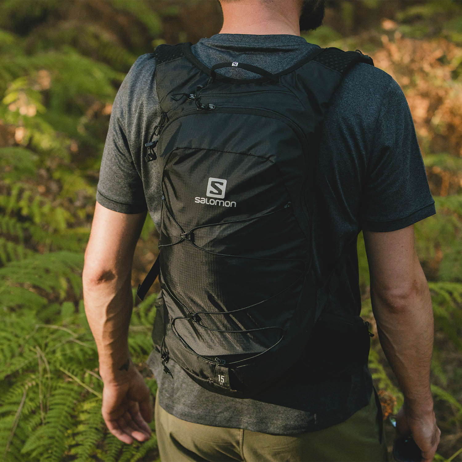 Salomon XT 15 Mochila - Black