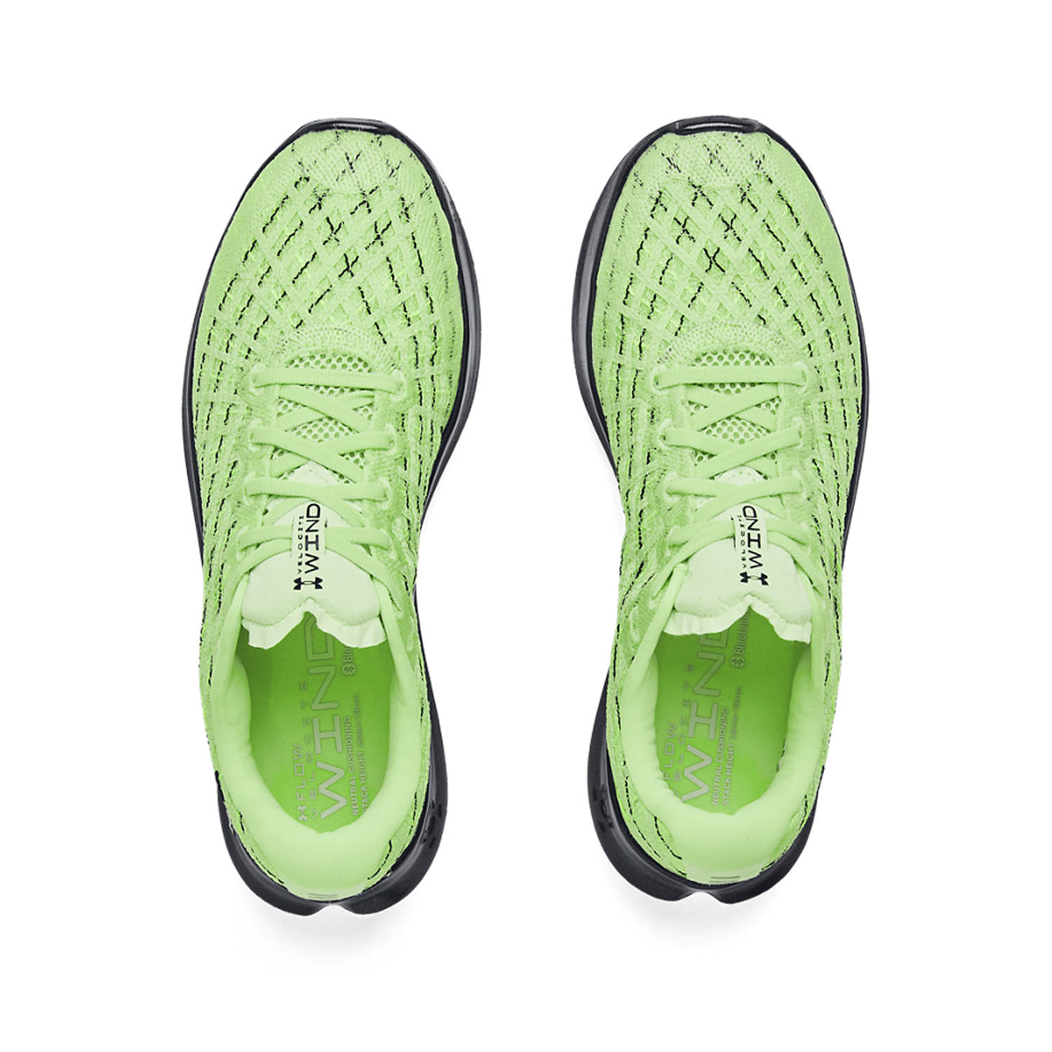 Under Armour Flow Velociti Wind - Summer Lime
