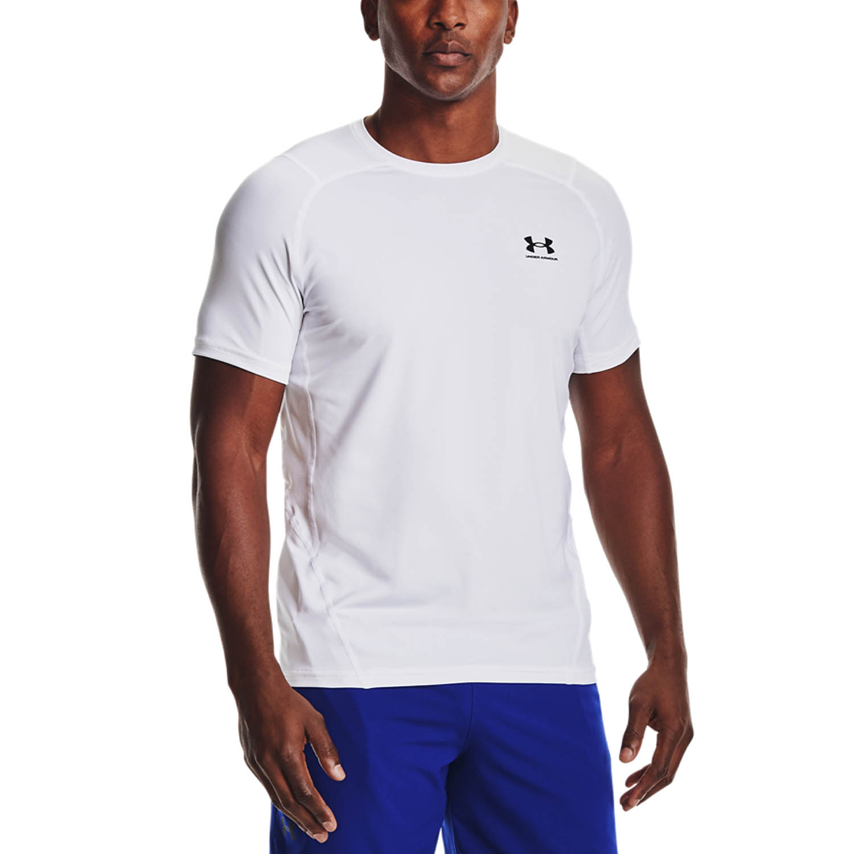 Under Armour HeatGear Knit T-Shirt - White
