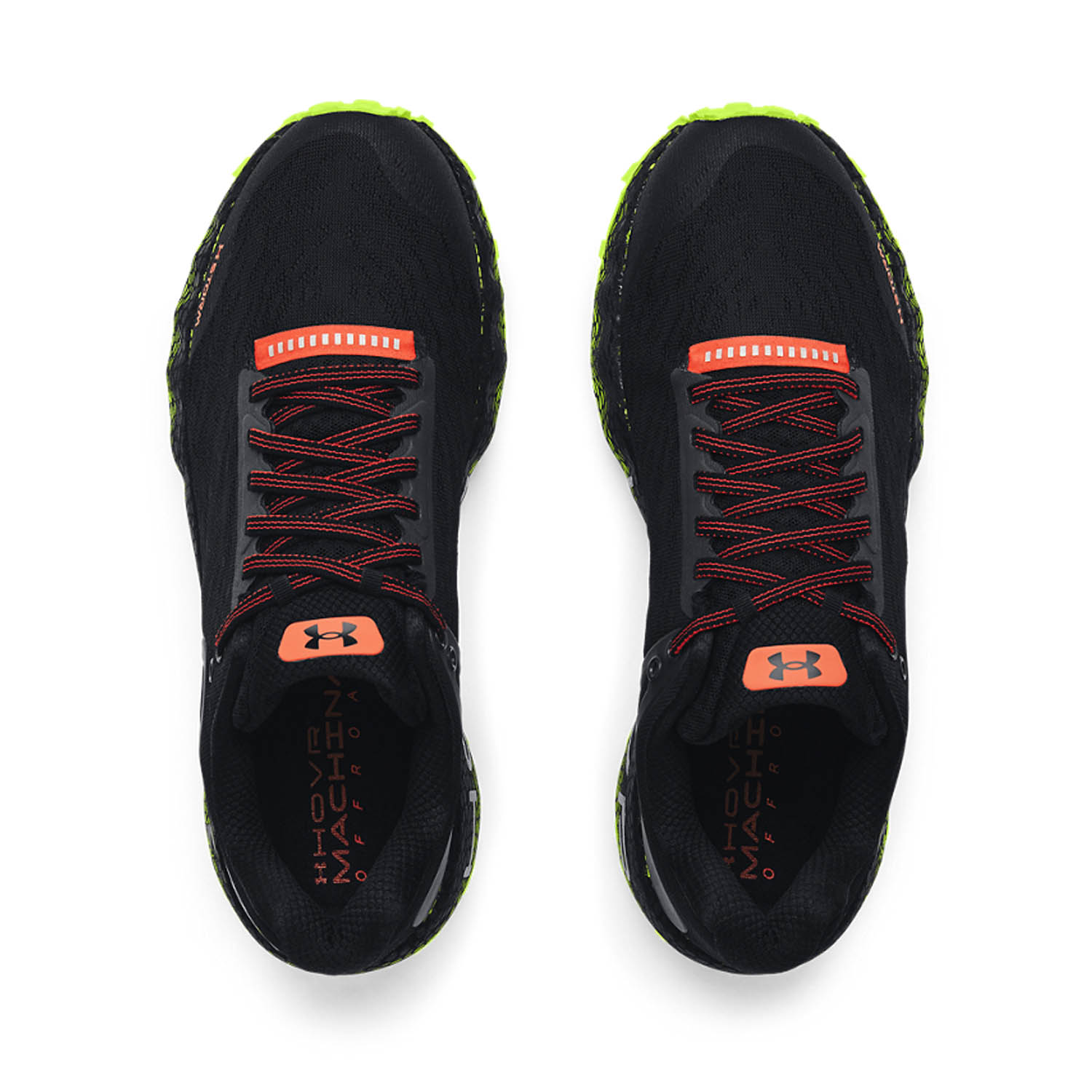 Under Armour Hovr Machina Off Road - Black/High Vis Yellow