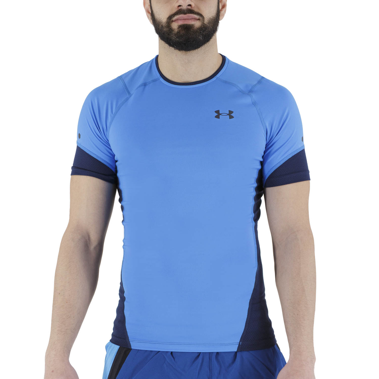Under Armour Rush HeatGear 2.0 T-Shirt - Blue Circuit
