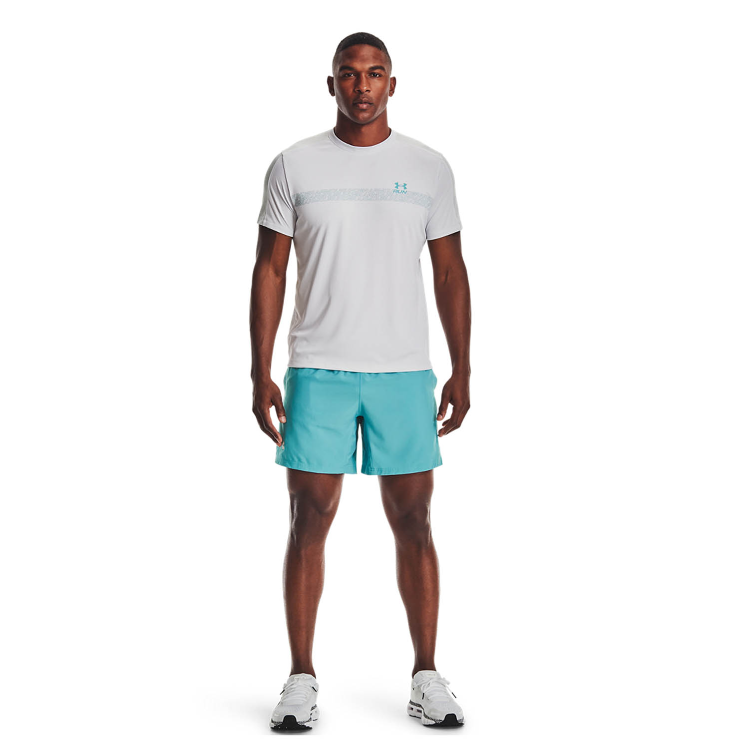 Under Armour Speed Stride Graphic T-Shirt - Halo Gray