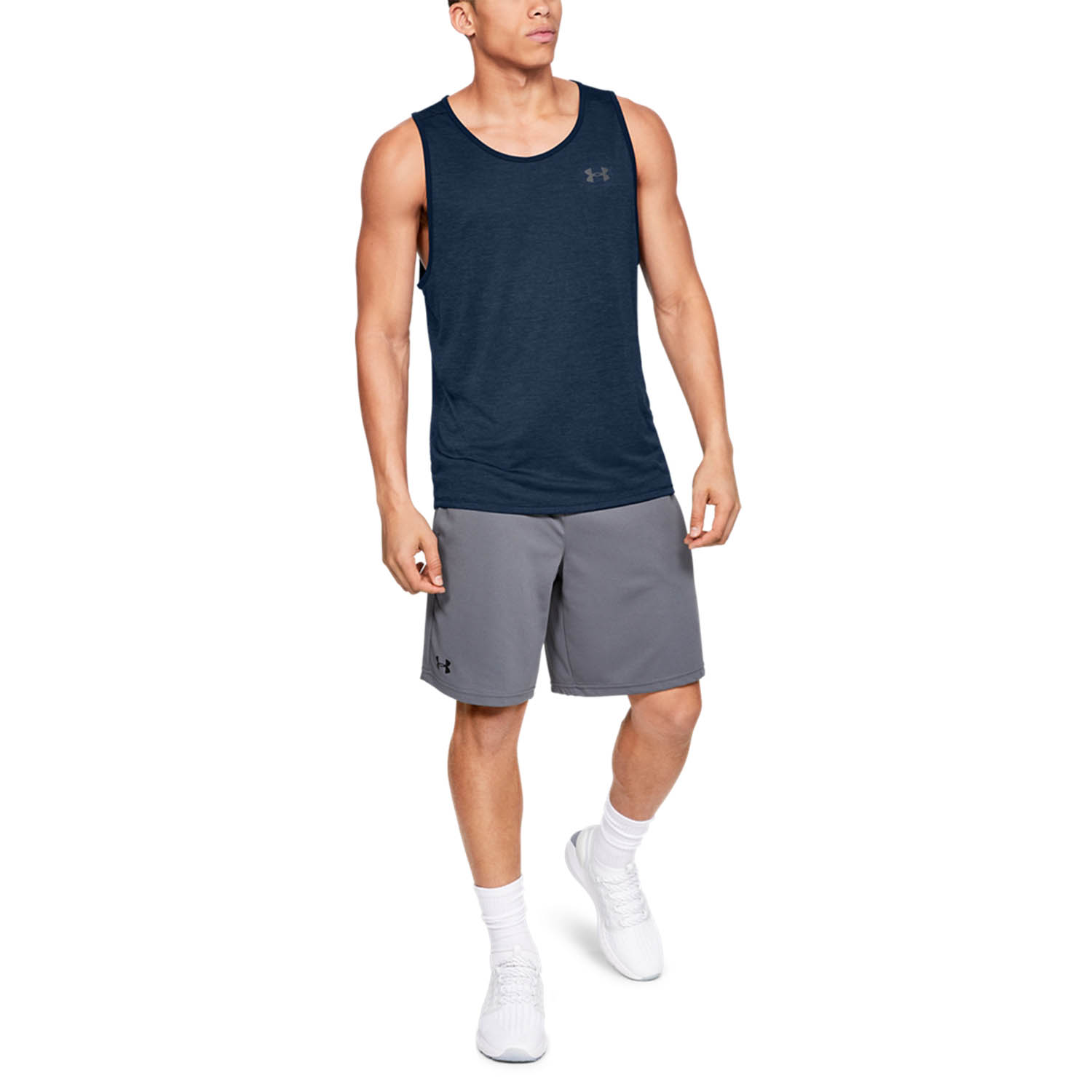 Under Armour Tech 2.0 Tank - Academy/Pitch Gray