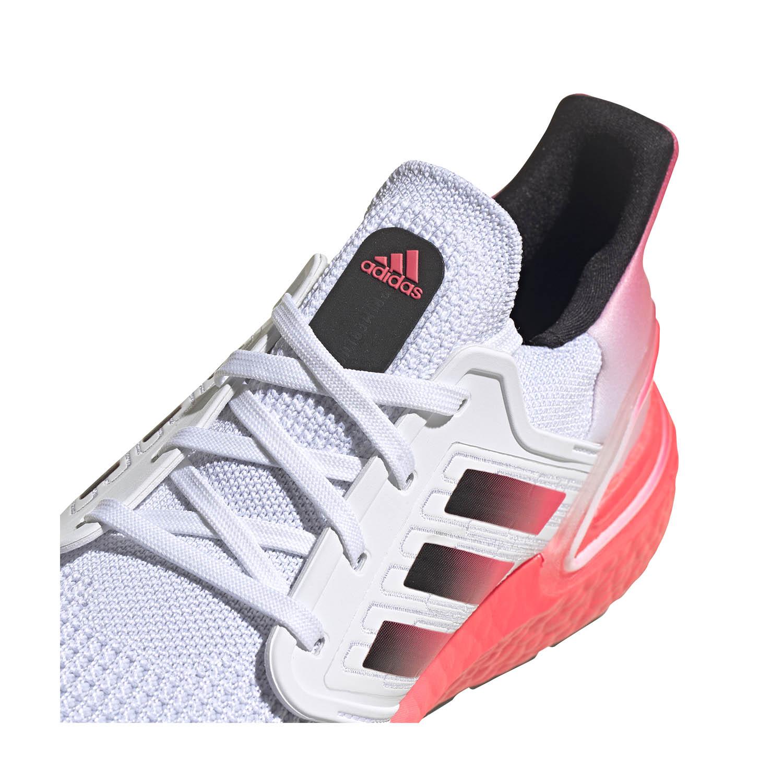 Adidas Ultraboost 20 - Ftwr White/Core Black/Signal Pink