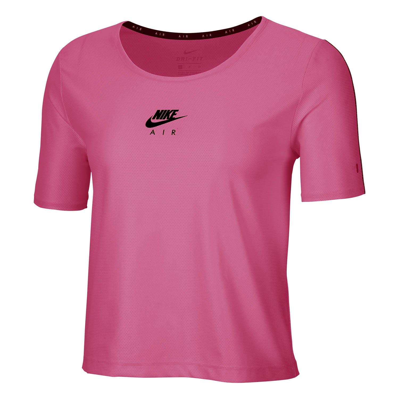 abajo lengua tallarines  Nike Air Camiseta de Running para Mujer - Pinksicle/Black