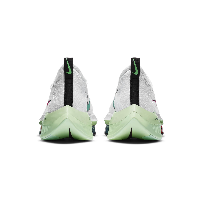 Nike Air Zoom Alphafly Next% - White/Flash Crimson/Jade Aura
