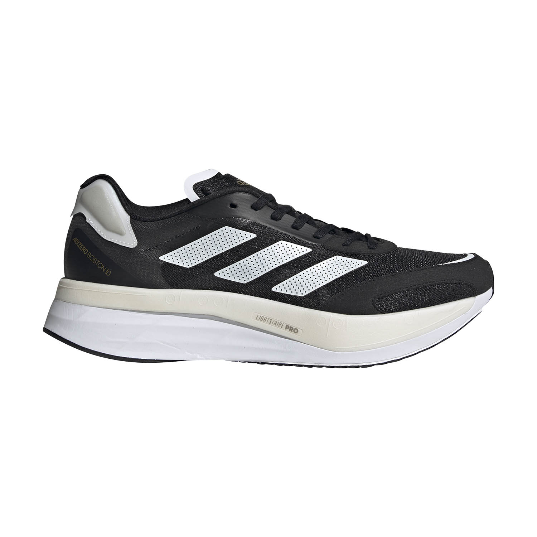 adidas Adizero Boston 10 - Core Black/Ftwr White/Gold Met