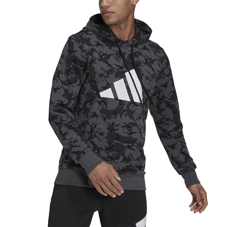 adidas Future Icons Camo Graphic Hoodie - Multicolor/Grey Six