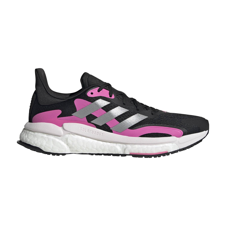 adidas Solar Boost 3 - Core Black/Screaming Pink/Halo Silver