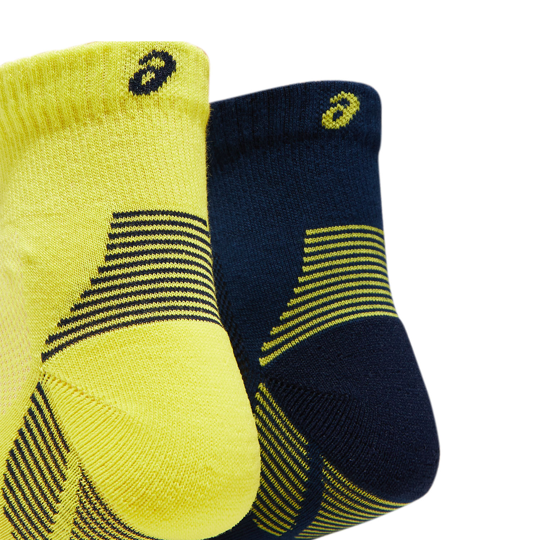 Asics Cushioning x 2 Socks - Peacoat/Sour Yuzu