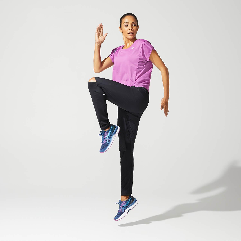 Asics Run Camiseta - Digital Grape/French Blue