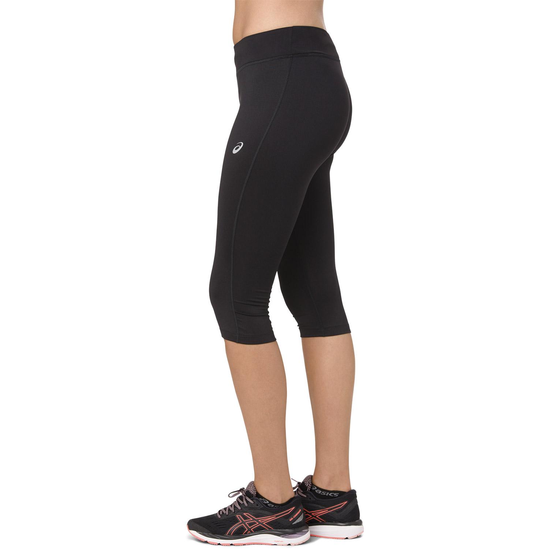 Asics Silver Knee Tights - Black