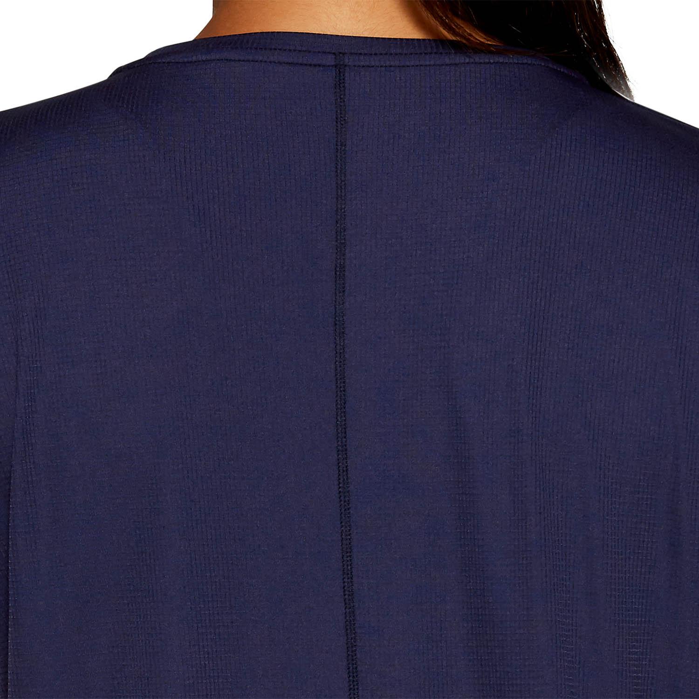 Asics Silver T-Shirt - Peacoat