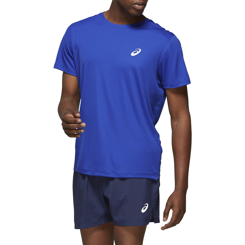 Asics Silver Camiseta - Asics Blue