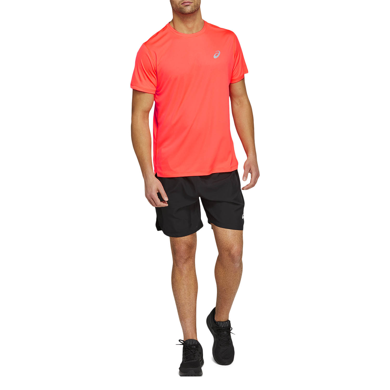 Asics Silver Camiseta - Flash Coral