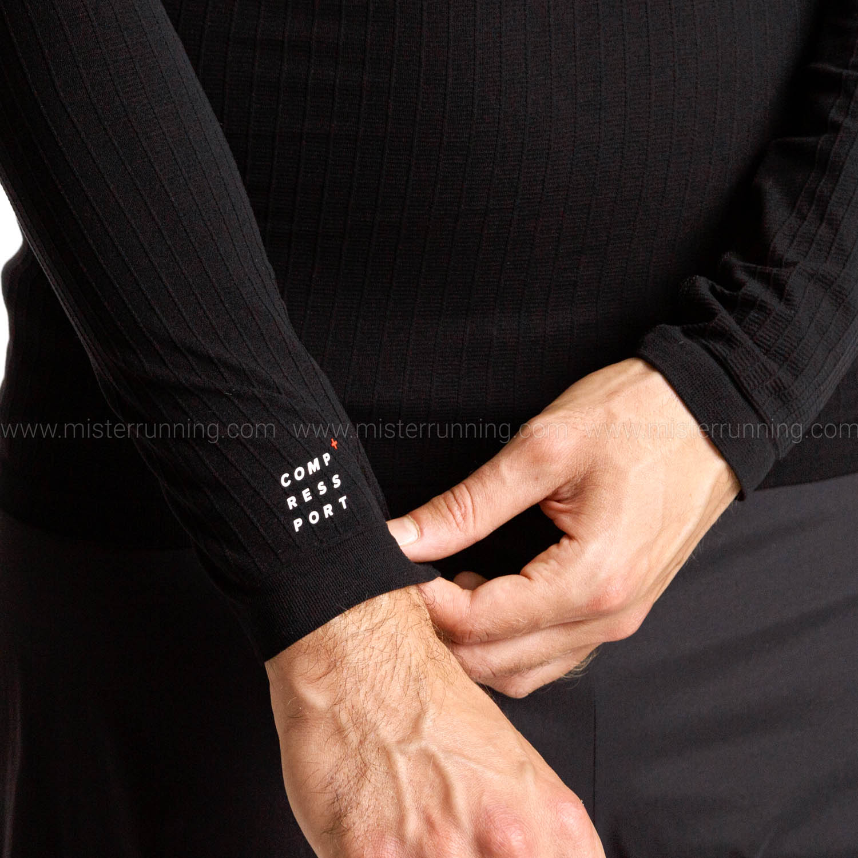 Compressport 3D Thermo Camisa - Black
