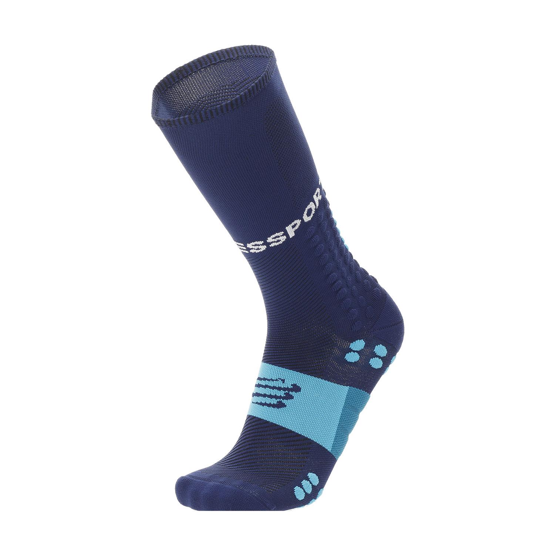 Compressport Full Run Socks - Blue