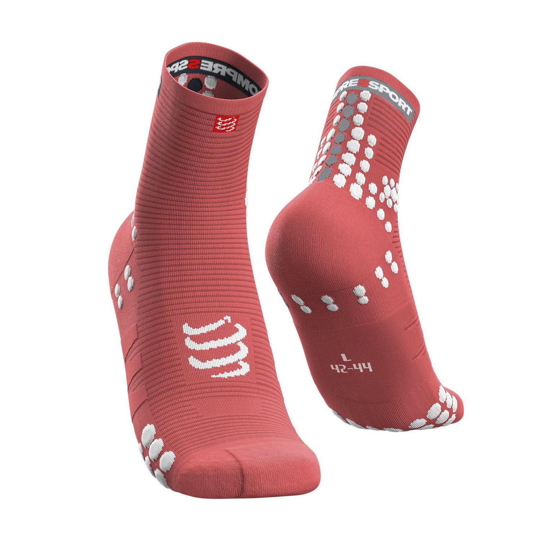 Compressport Pro Racing V3.0 Run Socks - Coral