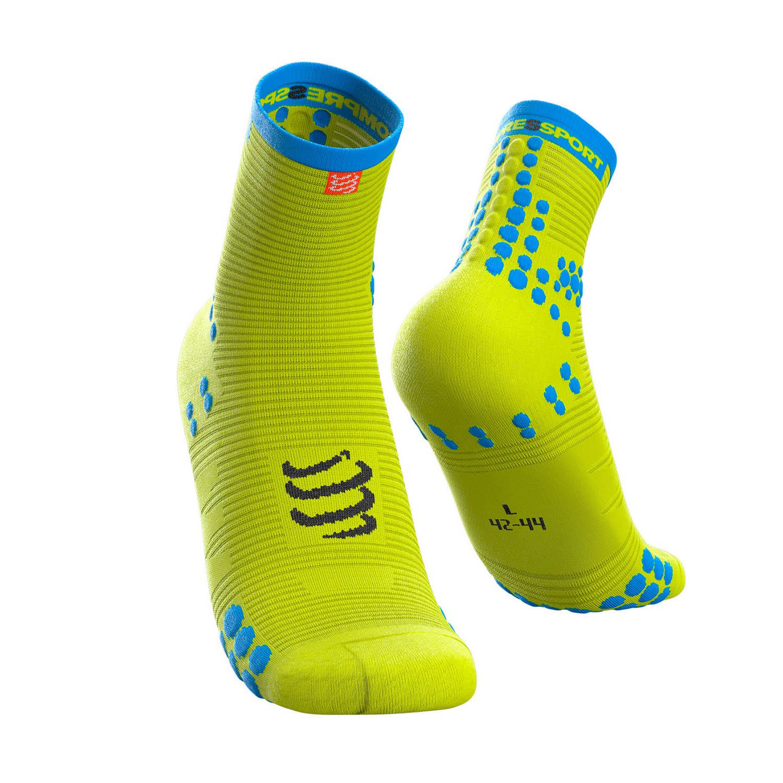 Compressport Pro Racing V3.0 Run Socks - Fluo Yellow