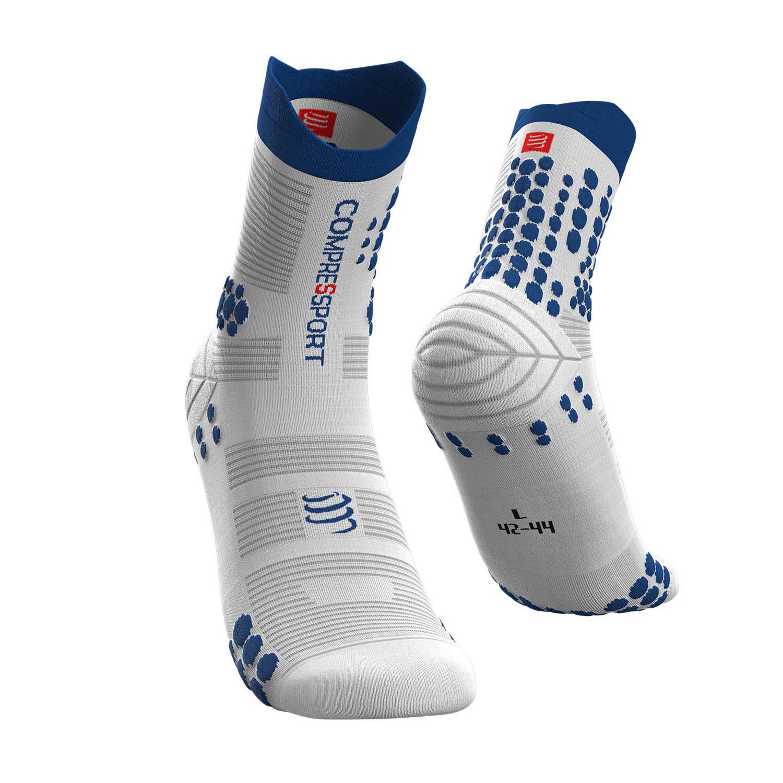 Compressport Pro Racing V3.0 Trail Socks - White/Lolite