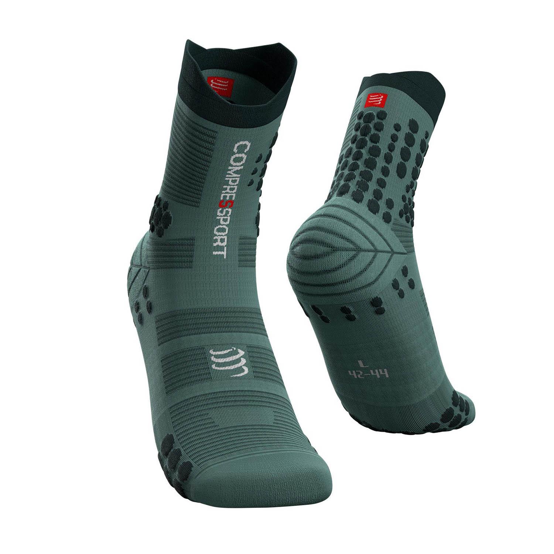 Compressport Pro Racing V3.0 Trail Socks - Silver Pine