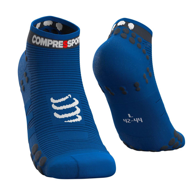 Compressport Pro Racing V3.0 Run Low Socks - Blue Lolite